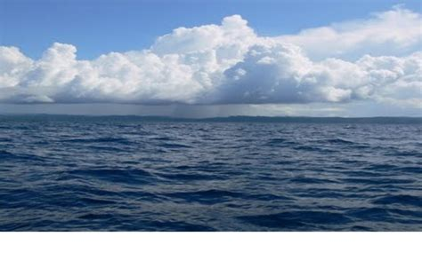 Dari Laut pulai nias dilihat dari lautan rantau gunungsitoli