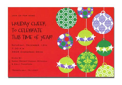 christmas party invite wording gangcraft net