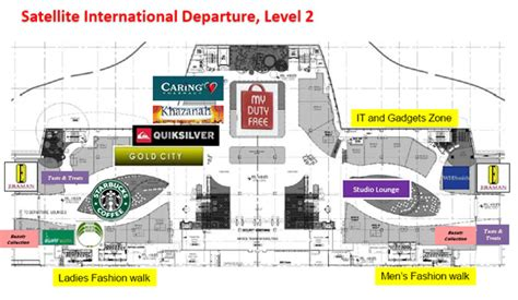 klia airport floor plan things to do when being stranded in klia kuala lumpur
