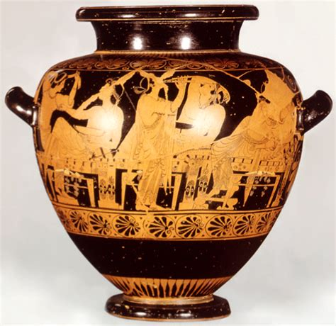 Athenian Vase Painting by Clar Arth 541 Vase Painting Home