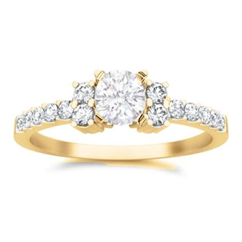 cheap engagement ring on jeenjewels