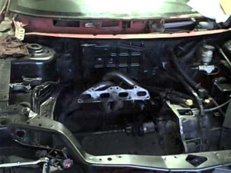 car engine repair manual 1999 dodge neon electronic valve timing 1995 dodge neon 2 4l swap engine youtube