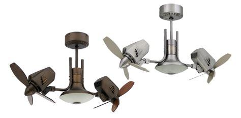 Dual Outdoor Ceiling Fan by Troposair Mustang Ii 18 In Dual Motor Oscillating Indoor