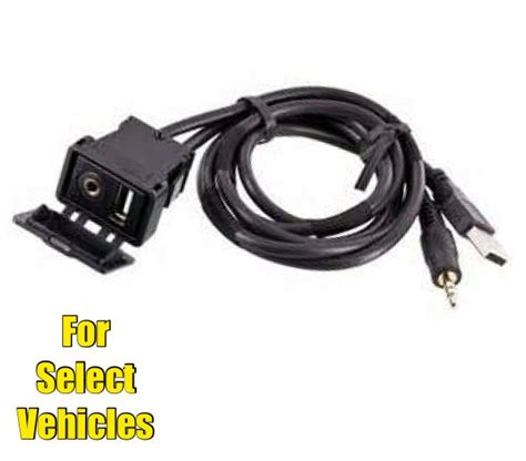 boat aux cable car stereo boat dash mount usb 3 5mm 1 8 aux extension