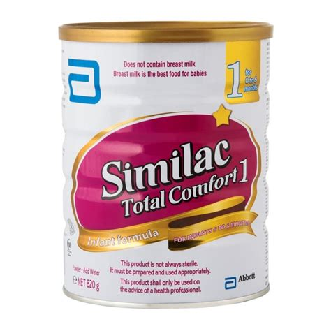 Total Comfort by Similac Total Comfort 1 Formula 820g Woolworths Co Za