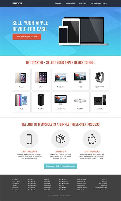 css layout iphone itemcycle sell iphone ipad shopping css showcase