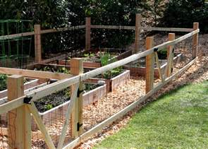 Small Garden Fence Ideas Tilly S Nest A Simple Garden Fence