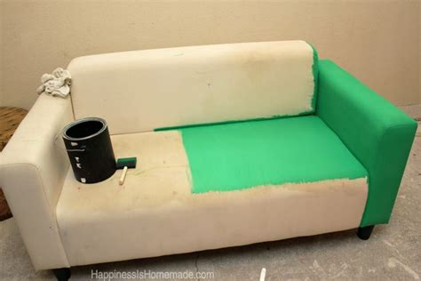 painted sofa how to easily make over a sofa with paint