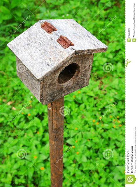 small bird house royalty free stock image image 28547826