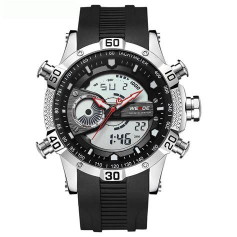 Jt0122 Jam Tangan Pria Skmei Sport Digital Silicone 1 weide jam tangan digital analog pria silicone wh6902 black white jakartanotebook