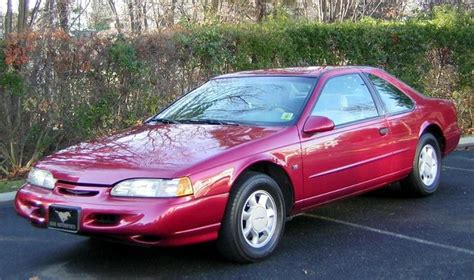1992 Ford Thunderbird by 1992 Ford Thunderbird Information And Photos Zombiedrive