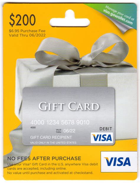 One Vanilla Gift Card - hh cert010 travel with grant