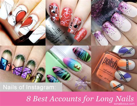 instagram tutorial nail art nails of instagram 8 best accounts for long nails