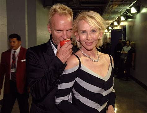 Toe Curling Sting Trudies by While Sting Readies His New Single Trudie Styler