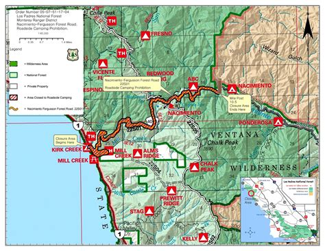 Pch Highway 1 Closures - california map pch