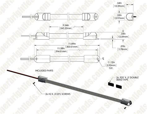 12 inch led tube light 12 inch 24 led light tube 60 lumens led light tubes