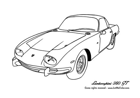 coloring in pages cars coloring supercars page 3 letmecolor