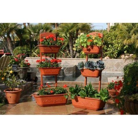 Self Watering Outdoor Planters by Vegetable Planter Flower Planter Outdoor Planters Self