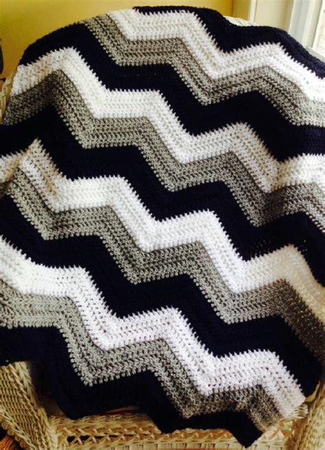 zig zag crochet pattern uk new chevron zig zag ripple baby blanket afghan wrap crochet