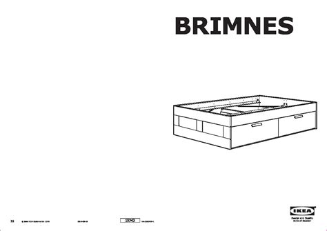 brimnes bed instructions brimnes bed frame with storage instructions frame design