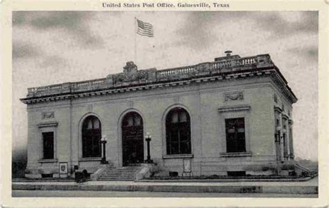 Gainesville Post Office by Postcards From Cooke County
