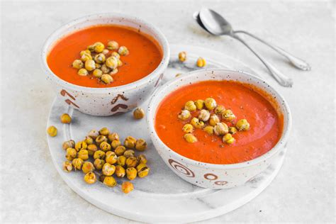 tomato basil sausage pasta sauce recipe with chickapea creamy tomato red pepper soup with basil chickpeas