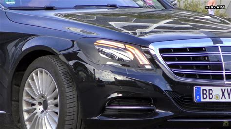 mercedes s class headlights 2018 mercedes s class spied with revised headlights and