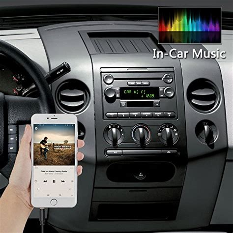 appscar car stereo aux adapter mm auxiliary input cable cord  ford edge expedition