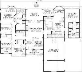 New Home Plans With Inlaw Suite by Open Living With In Law Suite