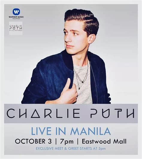 charlie puth full album youtube charlie puth live in manila philippine concerts