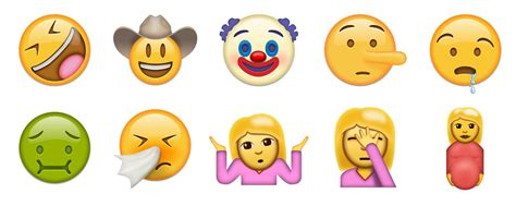 all iphone emoji faces unicode 9 faces emojipedia sle images 2 9to5mac