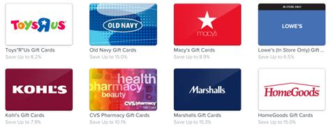 Types Of Gift Cards - this app is revolutionizing shopping the perfect swipe