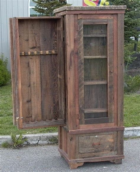 Barnwood Gun Cabinet by Only Best 25 Ideas About Gun Cabinets On