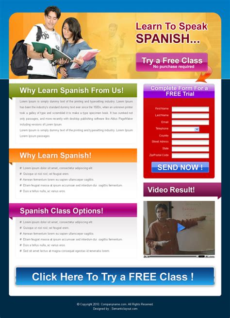 landing page design templates for sale on affordable price