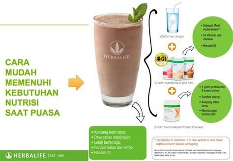 Teh Pelangsing Herbalife jual shake coklat berry vanilla herbalife