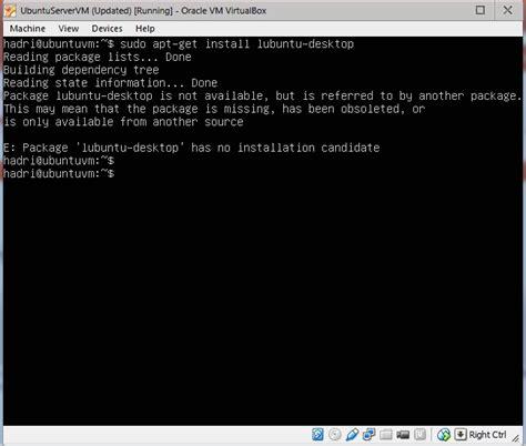 installing ubuntu server gui server problems in installing gui for ubuntu server 12 04