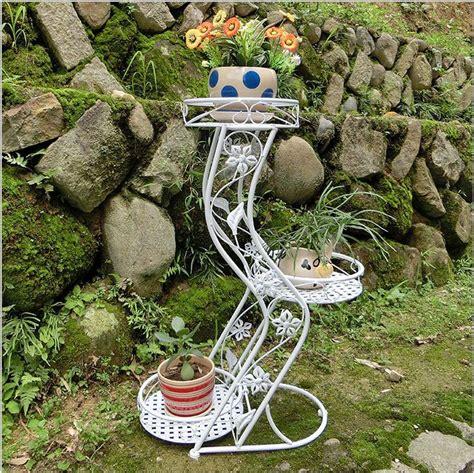 accessories stylish multi tier planter the big list of self 3 tier floor single european decorative outdoor metal