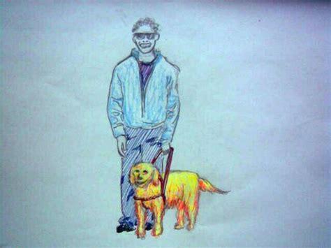golden retriever blind guide golden retriever guide blond leading the blind