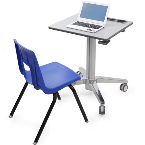Ergotron 24 547 003 Learnfit Sit Stand Student Desk For Standing Student Desk