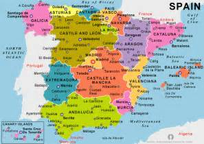 Spain Map by Spain Country Profile Free Maps Of Spain Open Source