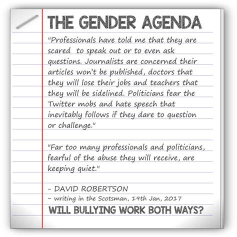 raunch culture gender agenda the gender agenda will bullying work both ways the