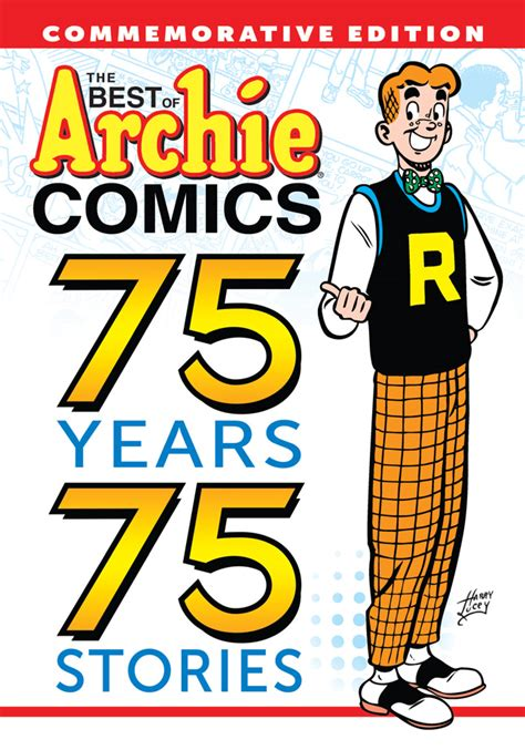 The Best Of Archie Comics 75 Years 75 Stories Archie Comics 2016 Gift Guide Archie Comics