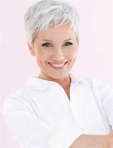 trendy hairstyles for mature women 2017 haircuts 33 top pixie hairstyles for older women short pixie