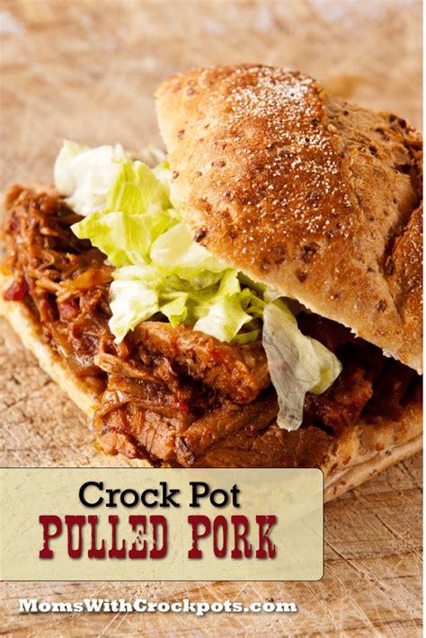 crockpot barbecue pulled pork recipe dishmaps
