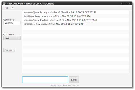 java chat room hascode 187 archive 187 creating different websocket chat clients in java