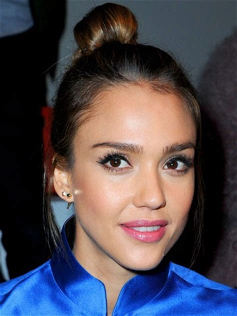 jessica alba bob hairstyles at 360 degrees new pictures celebrity bun hairstyles 2013 best star