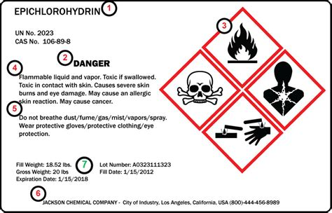 printable ghs labels chemical labeling ghs compliance labeling nicelabel