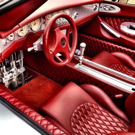spyker interior interior of the spyker c8 spyder maybe pagani got