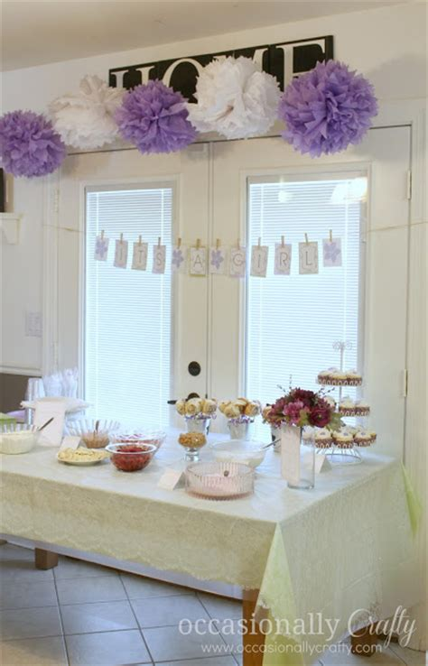 Purple And Green Baby Shower by Baby Shower Purple And Green Occasionally Crafty Baby