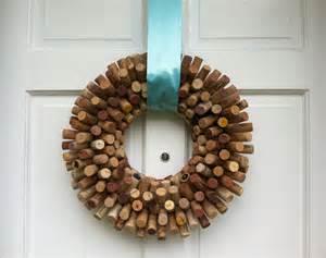 wine cork wreath diy pinterest